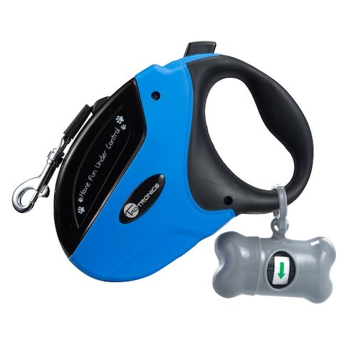 Best Retractable Dog Leashes: 1. TaoTronics retractable dog leash