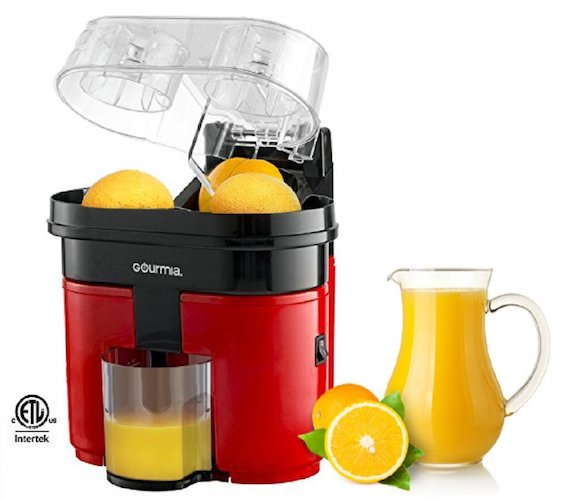 5. Gourmia GCJ200 Electric Citrus Juicer machine