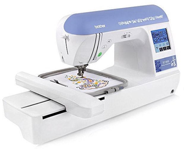 8. Brother SE 1800 Sewing And Embroidery Machine
