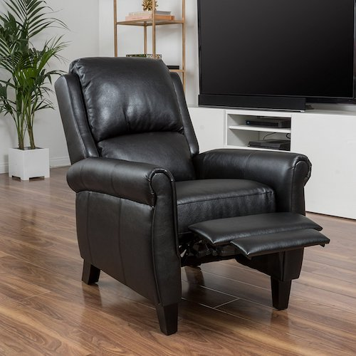 Lloyd Black Leather Recliner Club Chair & Top 10 Best Recliner Chairs For Living Room in 2017 Reviews ... islam-shia.org
