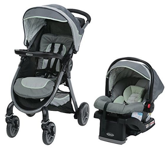 8. Graco Fast Action 2.0 Travel System, Mason