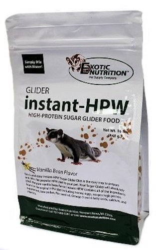 3. Instant-HPW High Protein Sugar Glider Food 16 oz.