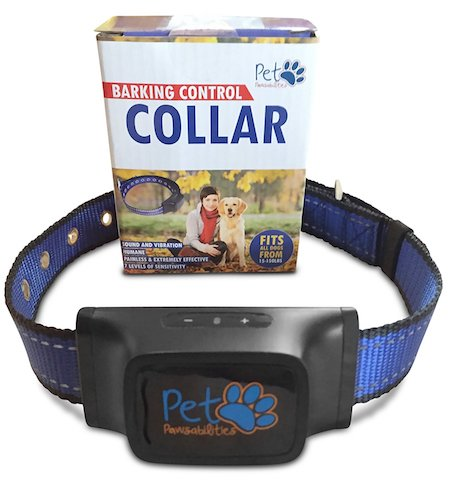 Dog Bark Collars: 5. Humane Bark Control Collar, 7 Different Bark Sensitivity Levels, Extremely Effective & No Pain or Harm, Bark Collar Vibration NO SHOCK, Premium Nylon Collar and No Rust Buckle, For 15-150 lb Dogs