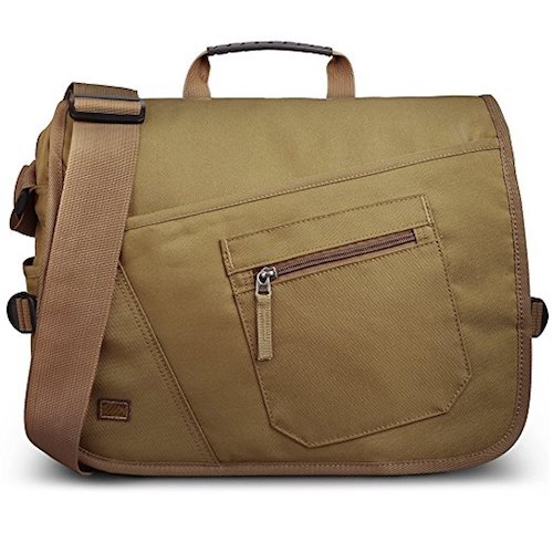 9. Qipi Messenger Bag - Shoulder Bag for Men & Women, 15