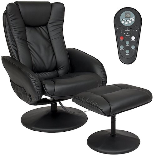 6. Best Choice Products PU Leather Massage Recliner