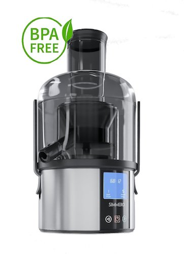 4. Touchscreen smart fruit and vegetable juicer