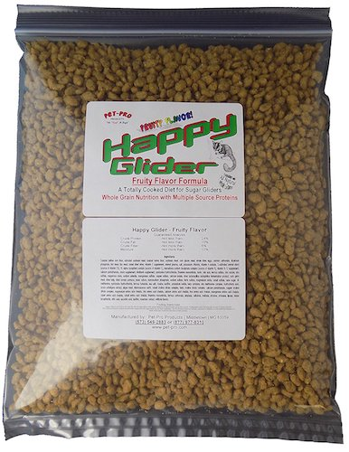 5. Happy Glider Fruity Flavor Sugar Glider Food 1.5 lb