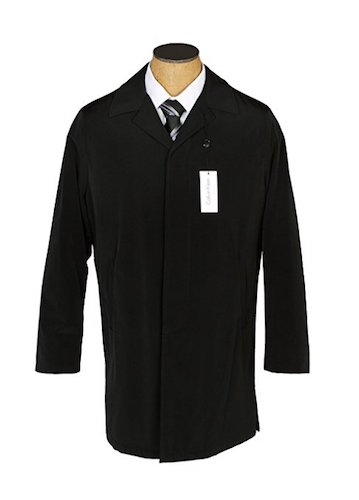 Top 10 Best Men's black Trench Coats: 5. Calvin Klein men's park raincoat