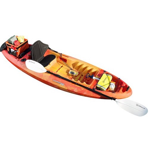 6. Attwood Asymmetrical Kayak Paddles, 7'