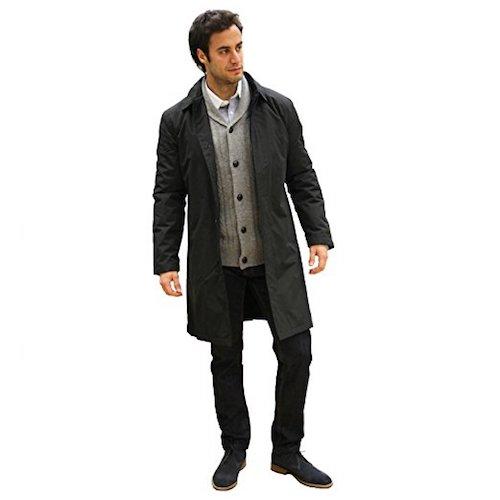 Top 10 Best Men's Black Trench Coats in 2019 Reviews