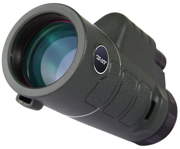 2. Wingspan NatureSight 10X42 Official Bird Watching Monocular. Love Birding, Wildlife and Scenery? Get this Compact, Durable, Waterproof Visionary With Easy One Hand Focus. From Polaris Optics.