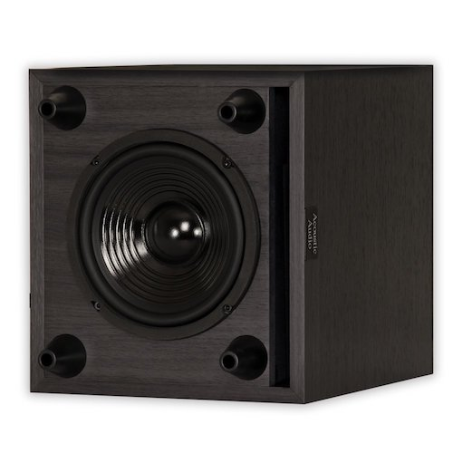 6. Acoustic Audio PSW-6 Down Firing Powered Subwoofer (Black)