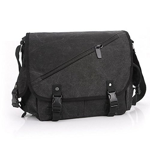 9. Casual Canvas Messenger Bag Crossbody Bag Shoulder Bag Sw1079