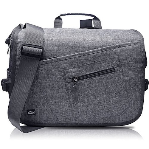 5. Qipi Messenger Bag - Shoulder Bag for Men & Women, 15