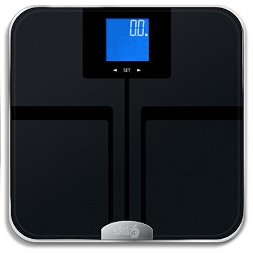 3. EatSmart Products Precision Getfit digital Body Fat Scale with Auto Recognition Technology