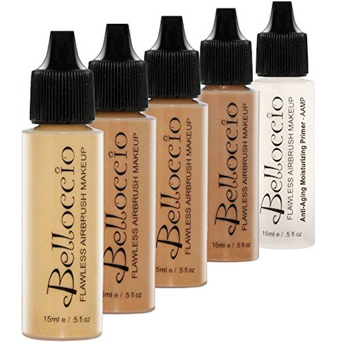 8. The Belloccio Airbrush Makeup Foundation