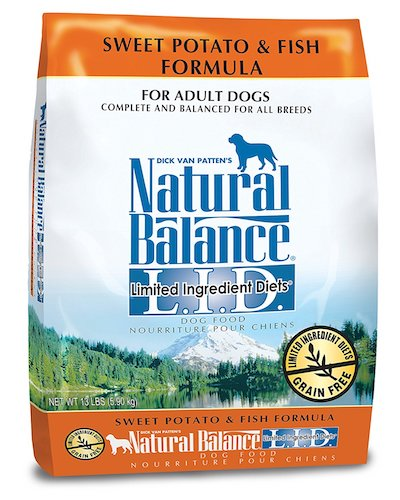 3. Natural Balance L.I.DLimited Ingredients diet