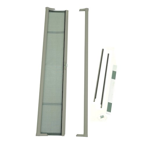 9. Brisa Retractable Screen Door Finish: Sandstone