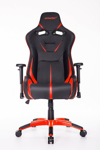 Best Comfortable Ergonomic Gaming Chairs : 8. AKRacing AK-9011 Large Size Series Ergonomic Racing Style Gaming Office Chair - Black/Red