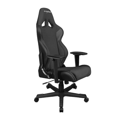 Best Comfortable Ergonomic Gaming Chairs : 1. DXRacer Racing Series DOH/RW106/N Newedge Edition Racing Bucket Seat Office Chair Gaming Chair Automotive Racing Seat Computer Chair eSports Chair Executive Chair Furniture With Pillows (Black)