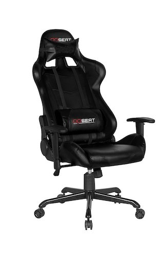 3. OPSEAT Master Series PC Gaming Chair Racing Seat Computer Gaming Desk Chair (Black)