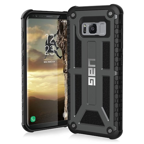 1. UAG Samsung Galaxy S8 [5.8-inch screen] Monarch Feather case