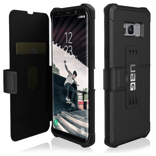 5. UAG Samsung Galaxy S8+ [6.2-inch screen] Metropolis Feather case