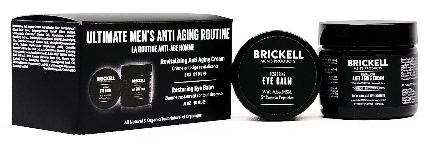 4. Brickwell Men's Ultimate anti-Aging Routine