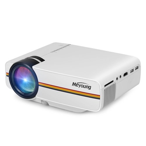 1. Meyoung Portable Projector 1080P 1200 Lumens 150