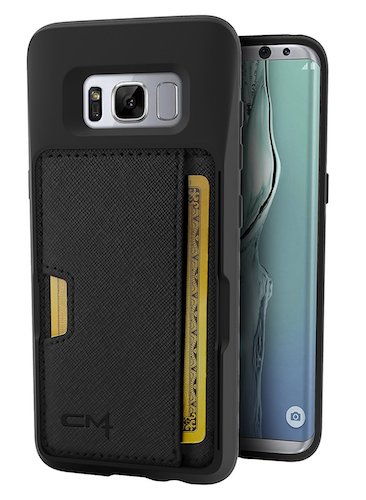 10. Galaxy S8 Wallet Case - Q Card Case for Samsung Galaxy S8