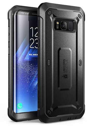 4. SUPCASE Samsung Galaxy S8+ Plus Case, Full-body Rugged Holster Case