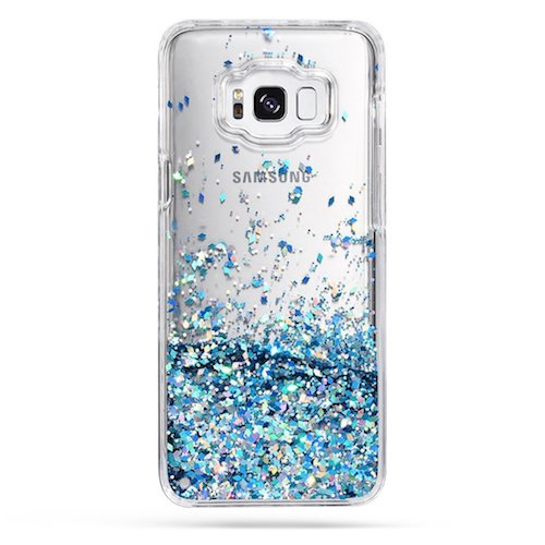 7. Galaxy S8 Plus Case, Caka Galaxy S8 Plus Glitter Case