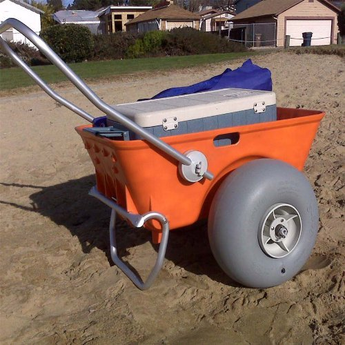 10. Heavy duty wheeleez beach cart