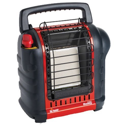 5. Mr. Heater F232000 MH9BX Buddy 4,000-9,000-BTU Indoor-Safe Portable Radiant Heater