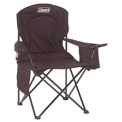 Best Folding Chairs 6. Coleman Oversized Quad Chair with Cooler