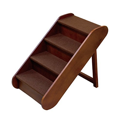 Best Folding Dog Stairs: 3. Solvit PupSTEP Wood Stairs Pet Steps