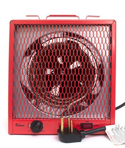 4. Dr. Infrared Heater DR-988 Garage Shop 208/240V, 4800/5600W Heater with 6-30R Plug