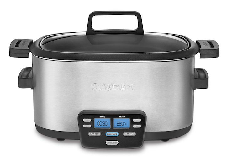 Best Slow Cookers: 10. Cuisinart MSC -600 3-in-1 Cook Central 6-Quart Multi-Cooker: Slow Cookers, Brown, Steamer