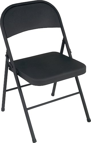 Best Folding Chairs 2. Cosco All Steel 4-Pack Folding Chair