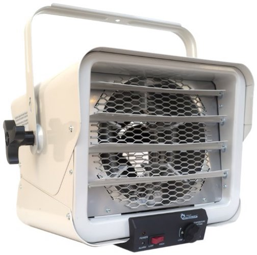 1. Dr. Heater DR966 240-volt Hardwired Shop Garage Commercial Heater, 3000-watt/6000-watt