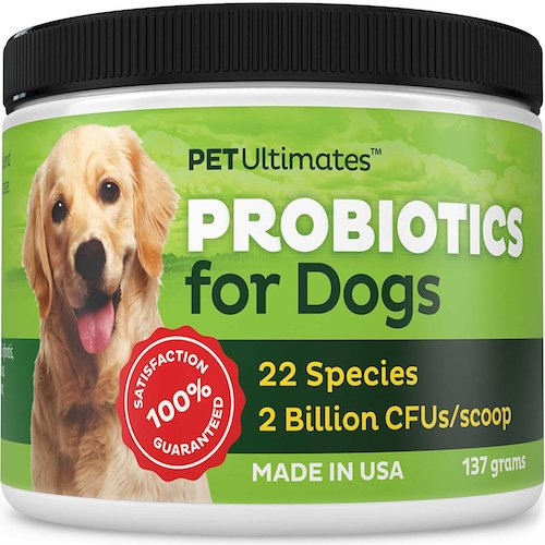 Best Probiotics for Dogs and Cats: 4. Pet ultimates probiotics for dogs