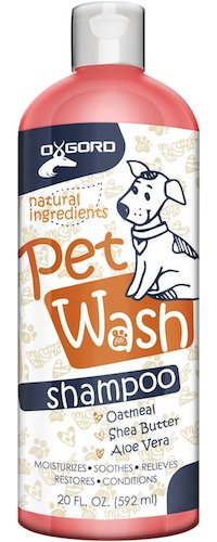 Best Dog Shampoo For Sale : 2. OxGord natural oatmeal dog shampoo