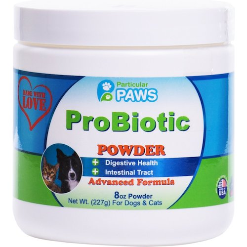 Best Probiotics for Dogs and Cats: 1. Particular paws probiotics for dogs and cats powder