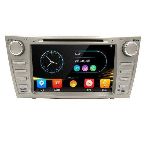3. HIZPO Fit Toyota Camry Aurion 07-11 In Dash Double Din 8