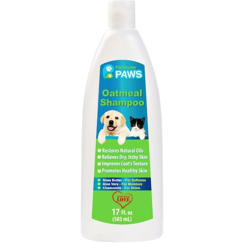 Best Dog Shampoo For Sale : 1. Particular paws, oatmeal shampoo