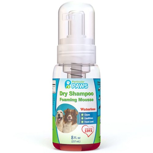 Best Dog Shampoo For Sale : 7. Particular paws, dry shampoo