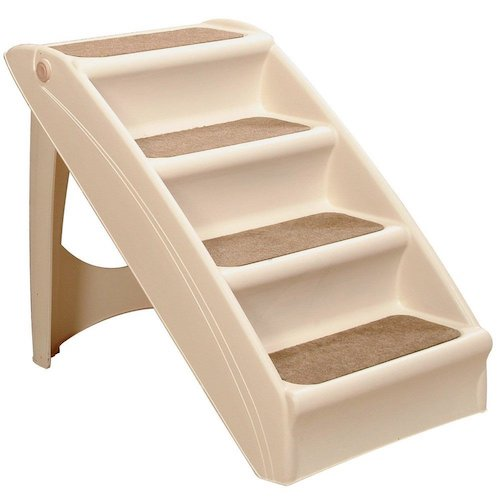 Best Folding Dog Stairs: 5. PupSTEP Pet Ramp Stairs Dog Cat Animal