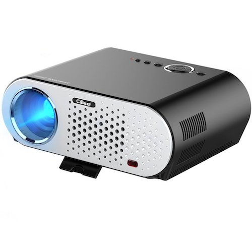 Best Projectors Under 200: 1. Video Projector Protable, CiBest GP90 LCD Projector