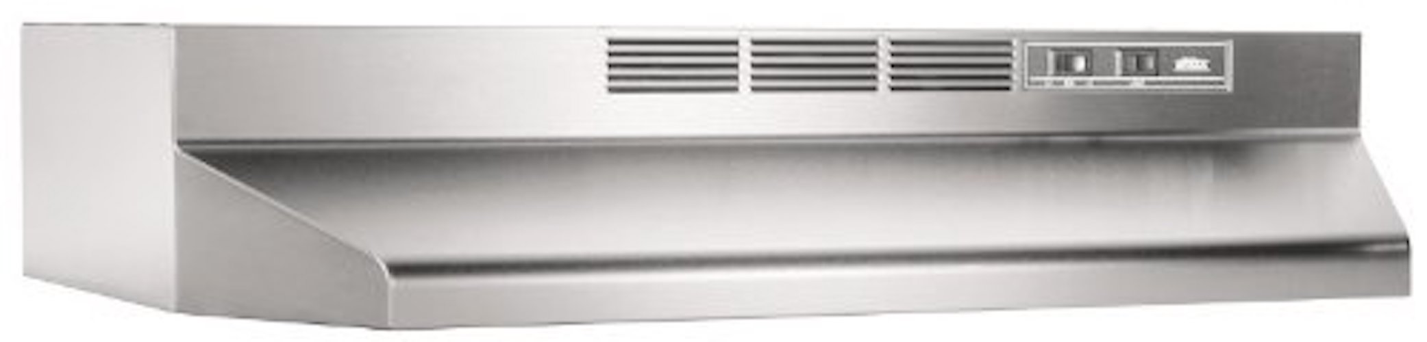 1. Broan 413004 ADA Capable Non-Ducted Under-Cabinet Range Hood, 30-Inch, Stainless Steel