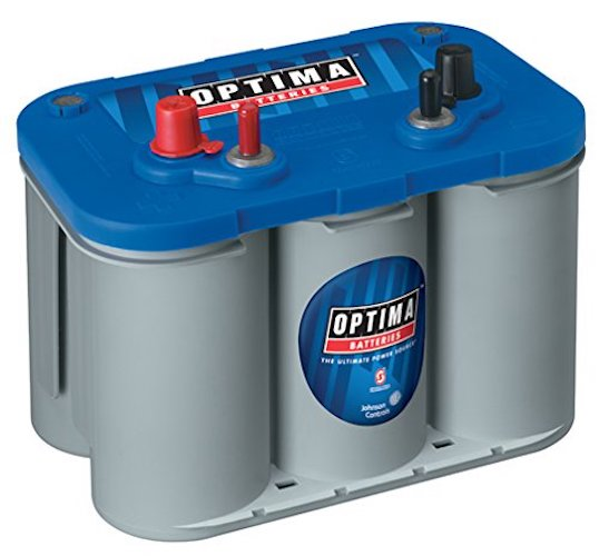 6. Optima Batteries 8016-103 D34M BlueTop Starting and Deep Cycle Marine Battery